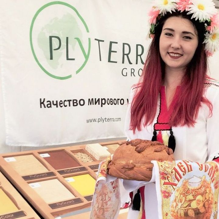 Plyterra at the Russian Ploughing Championship